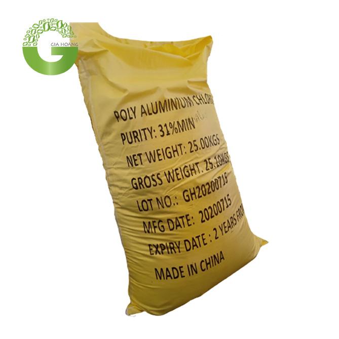 PAC Vàng Chanh, Trung Quốc, 25kg/bao