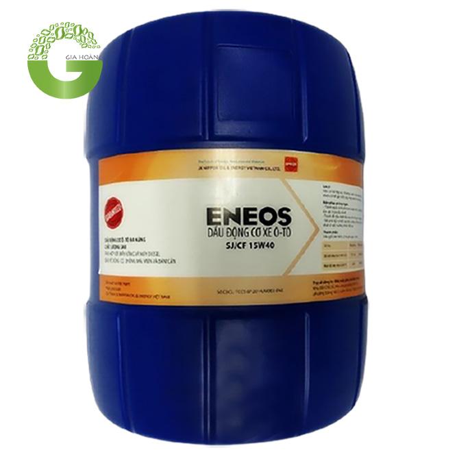 DẦU ĐỘNG CƠ XĂNG CAO CẤP ENEOS Engine Oil SJ/CF,Nhật Bản,Xô 18L/Phuy 200L