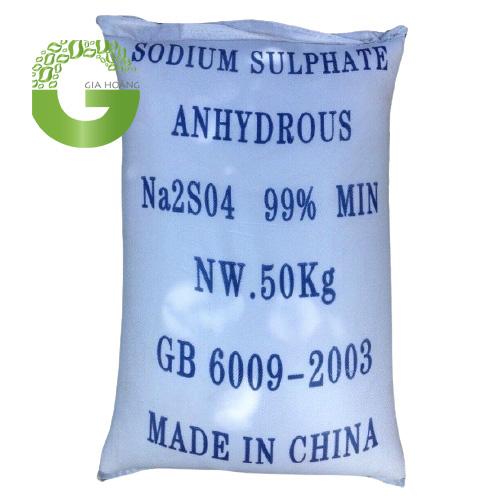 Na2SO4 - Sodium Sulfate, Trung Quốc, 50kg/bao