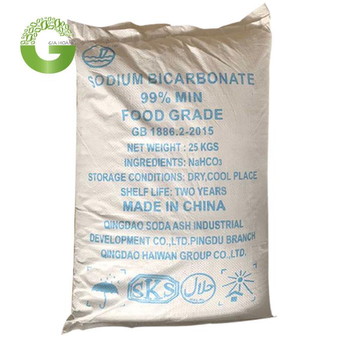 NaHCO3 - Sodium Bicarbonat99,5%, Trung Quốc, 25kg/bao.