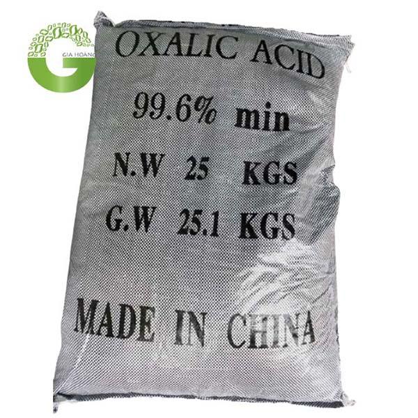 C2H2O4 - Axit Oxalic, Trung Quốc, 25 kg/bao