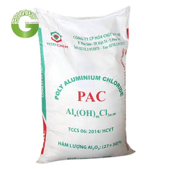 PAC Việt Trì - Poly Aluminium Chloride, Việt Nam, 25kg/bao