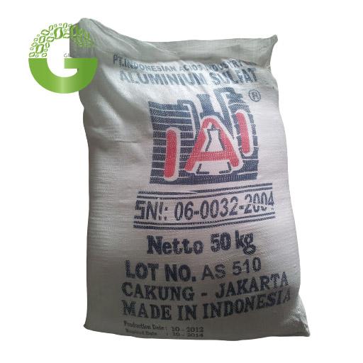 Hóa chất Al2(SO4)3. 18H2O 17% - Phèn Nhôm Sunfat, Indonesia, 50kg/bao.