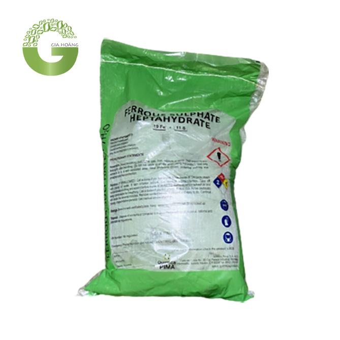 FeSO4.7H2O - Phèn Sắt Sunfat, Trung Quốc, 25kg/bao