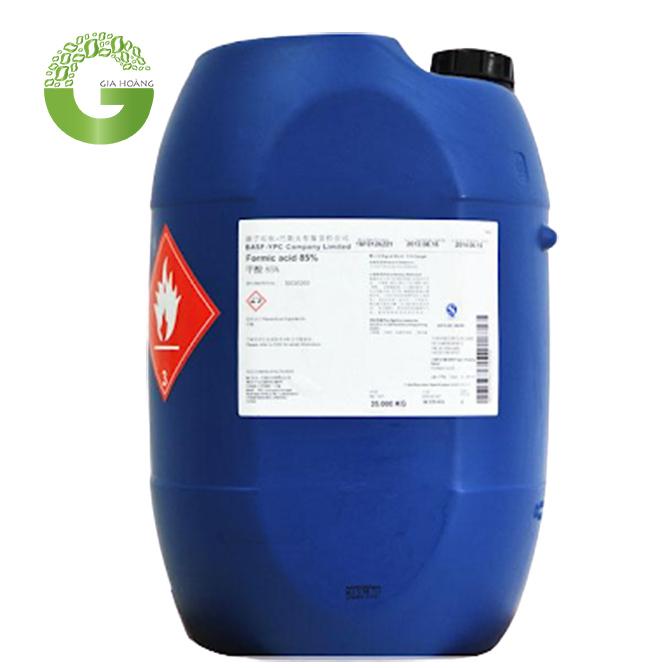 HCOOH - Acid formic, Trung Quốc, 35kg/thùng